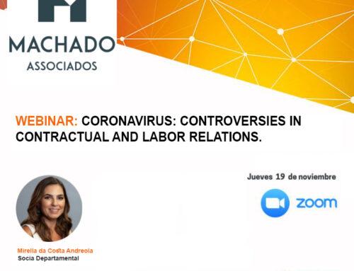 Webinar: Coronavirus: Controversies in contractual and labor relations